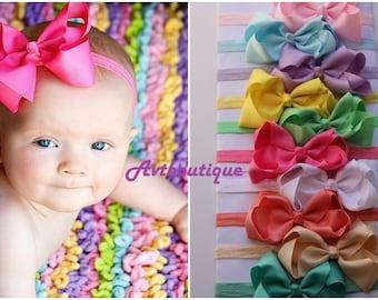 Baby headband, PICK 10 headbands, bow headband, infant bow headbands, girl bow headband, infant headbands, newborn headbands, baby girl