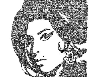 Amy Winehouse Titles Print