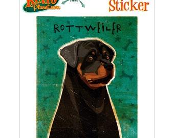 Rottweiler Guard Dog Vinyl Sticker - #63689