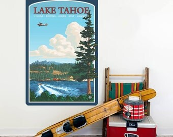 Lake Tahoe Sierra Nevada Wall Decal - #60767