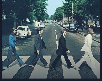 Beatles - Abbey Road Tracks - Poster - Free Shipping