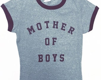 Mother of boys T-shirt