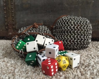 Chainmail Dice Bags