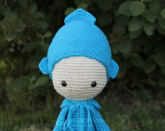 Made to Order Crocheted Oleg Octopus (Pattern by Lalylala)