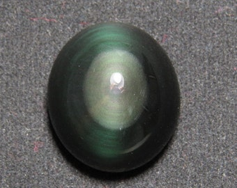 Rainbow Obsidian - Oval Shape Cabochon size  - 20x23 mm - weight - 31.90 crt