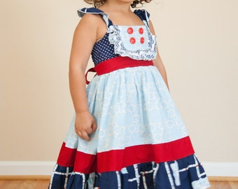 Miss Molly Ruffle Dress (Sizes 12M to 4T)