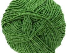 Forest Green Knitca Delight, DK Weight, 100% superwash merino wool yarn