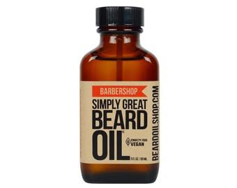 Beard Oil BARBERSHOP by Simply Great