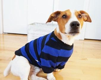 Dog clothing/ dog stripped sweather
