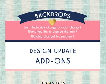 Design Update || Update A Finished Id Backdrop Design || Edit A Finished Design || Need A Last Minute Change || Upgrade
