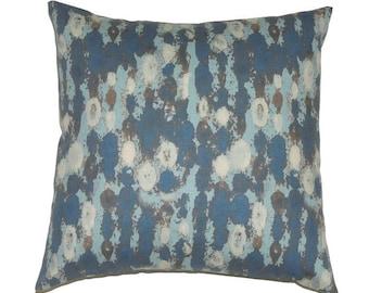 Blue Pillow, 16x16 Pillow Cover, Modern Pillow, Decorative Pillows, Throw Pillow Covers, Pillows, Camouflage, Boy, Amba Cadet