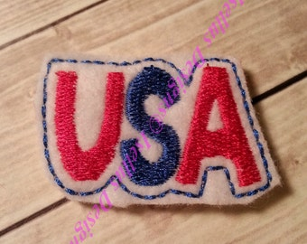 USA 4th Of July Felties