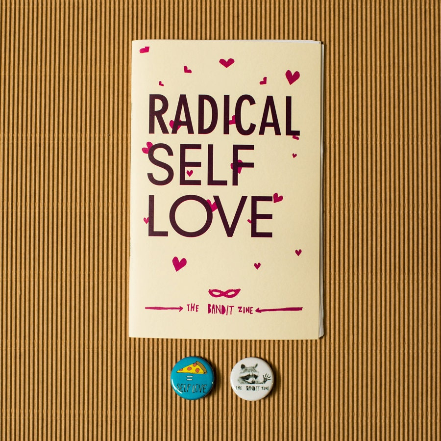 Quotes About Love: Radical Self-Love: Special Edition Zine Pack