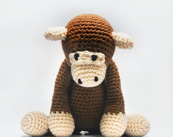 Monkey Stuffed Animal - Stuffed Monkey - Stuffed Animal Monkey - Stuffed Toy Monkey - Stuffed Monkey Animal - Stuffed Monkey for Baby