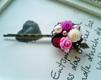 """Vintage hair clip """"Lilac dream"""""""