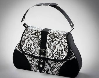 3D SVG Handbag Satchel DIGITAL download