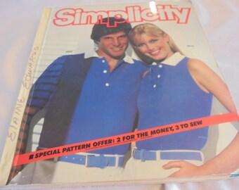 Vintage SIMPLICITY PATTERN Counter CATALOG May 1981