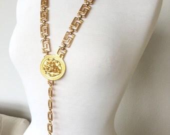 SALE Lion necklace or belt
