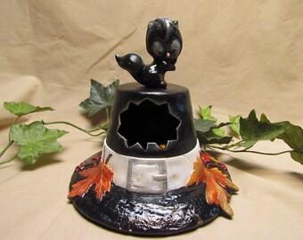 Ceramic Pilgrim Hat Dish