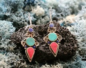 Delicate Tibetan Earrings