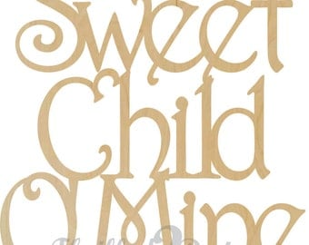 Sweet Child O' Mine Wall Decoration - Wreath, Home Decor, Fall Decorations