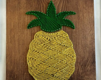 Pineapple <Wood Art//Home Decor//String Art//Signs>