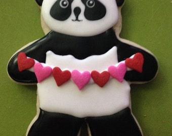 PANDA BEAR Sugar Cookie