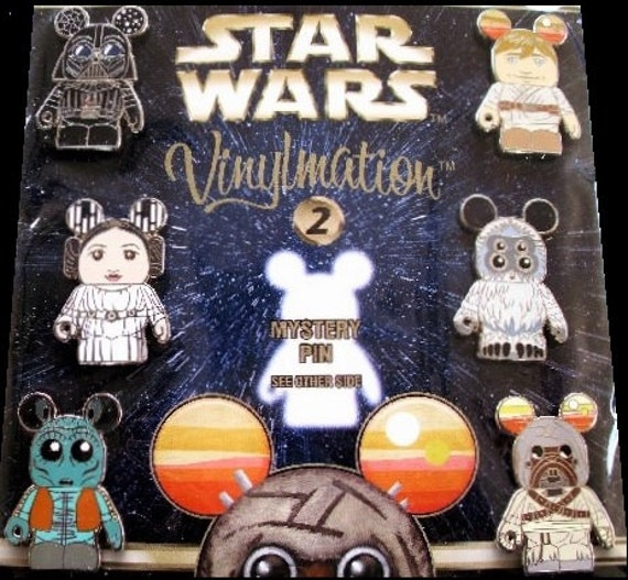 Disney Star Wars 2 Vinylmation Trading Pins