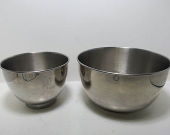 Free Shipping!! Hamilton Beach Scovill Stainless Steel Mixer Bowls