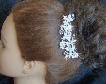 Wedding hair comb with Butterflies, bridal hair comb, wedding hair accessories, bridal accessories, crystal hair comb, weddings, haircomb