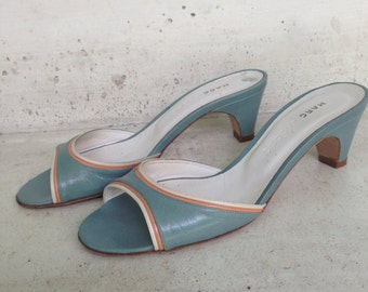 Mules leather Marc JACOBS, 37