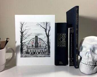 Amytiville Horror House Print