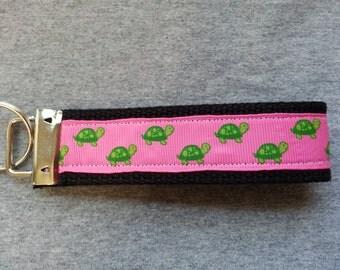 Key Chain -- Wristlet -- Turtles