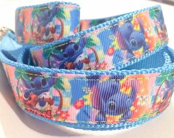Aloha Stitch Inspired Dog Collar