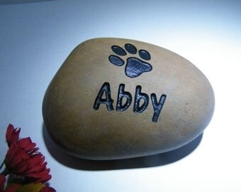 Custom Cat/Dog Memorial Stone Grave Marker Pet Stone