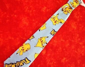 Adjustable  Children's Pokemon tie