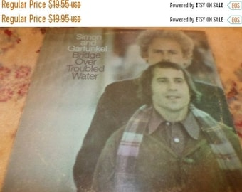 Save 15% Today Vintage 1970 LP Record Simon and Garfunkel Bridge Over Troubled Water Very Good Plus Condition 745