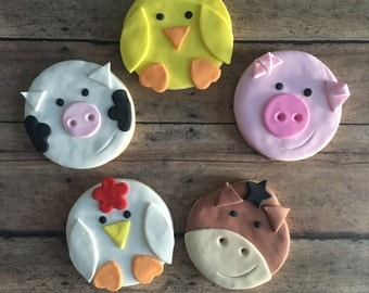 animal farm sugar cookies