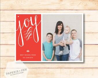 Joy // Holiday Photo Card