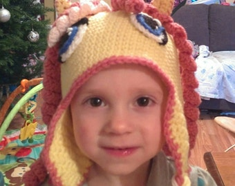 Fluttershy winter hat