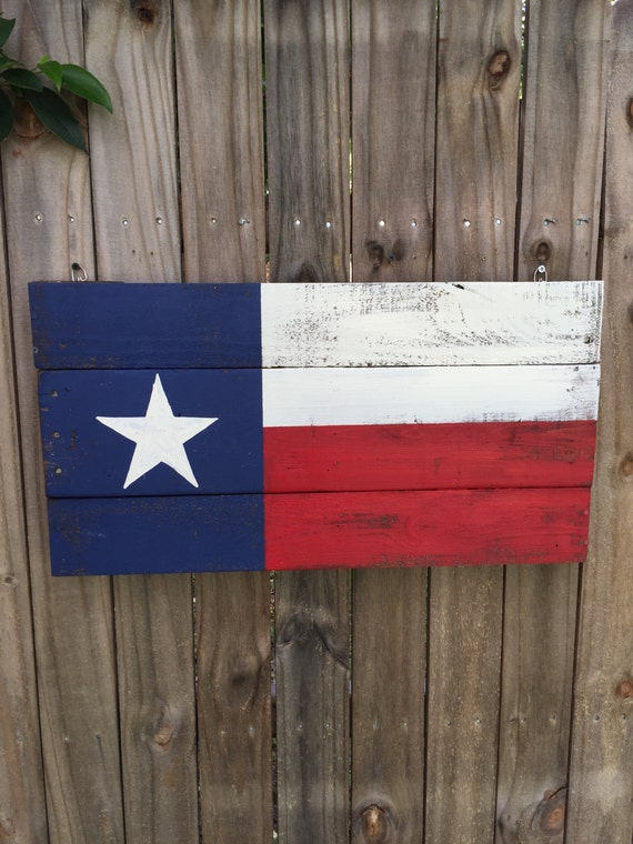 Texas flag Pallet Sign Texas Heritage recycled by ...