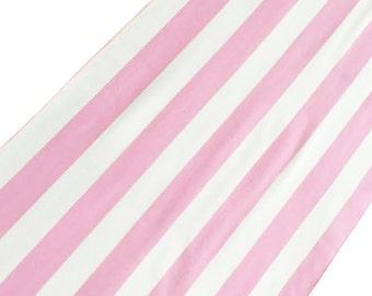 "ArtOFabric Decorative Cotton 1"" Stripe Print Summer Table Runner"
