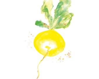 Kitchen Wall Art, Kitchen Art Print, Vegetable Watercolor Painting, Kitchen Wall Decor, Wall Art Kitchen