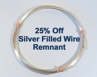 Silver Filled Wire - 18ga 14ft 6in HH - 25% Off