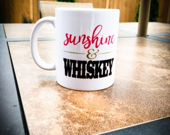 Every Time You Kiss Me It's Like Sunshine and Whiskey Mug // Frankie Ballard Mug // Sunshine Whiskey Mug