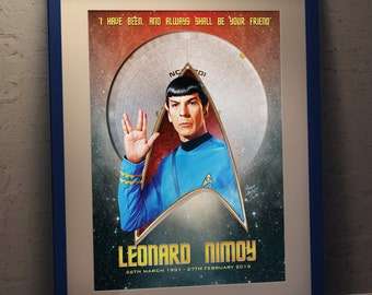 """Spock - """"I have been and always shall be your friend"""""""
