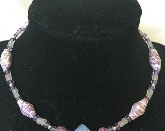 Shades of Purple Children's Necklace