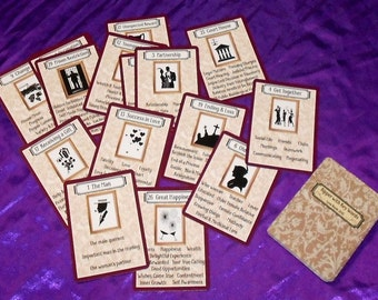 Kipper with Key Words Fortune Telling Cards. Brand New. Self Published.