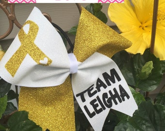 Childhood Cancer Awareness Bow
