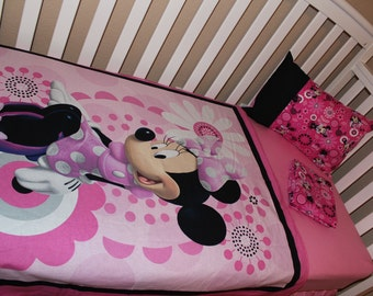 Minnie Mouse Bedding Etsy Uk